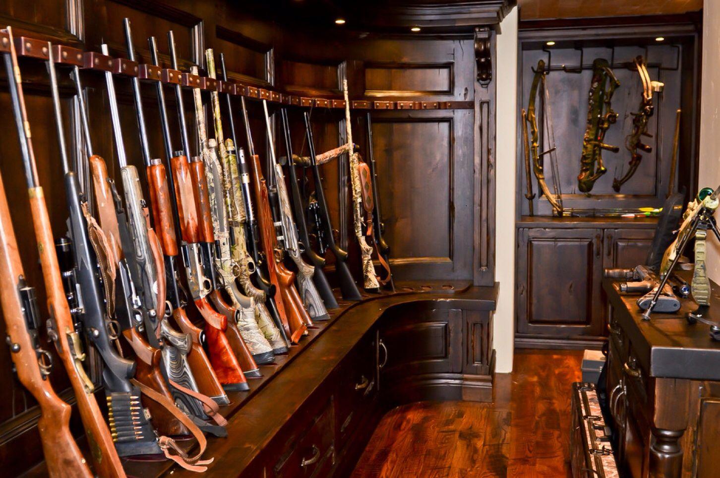 A gun room