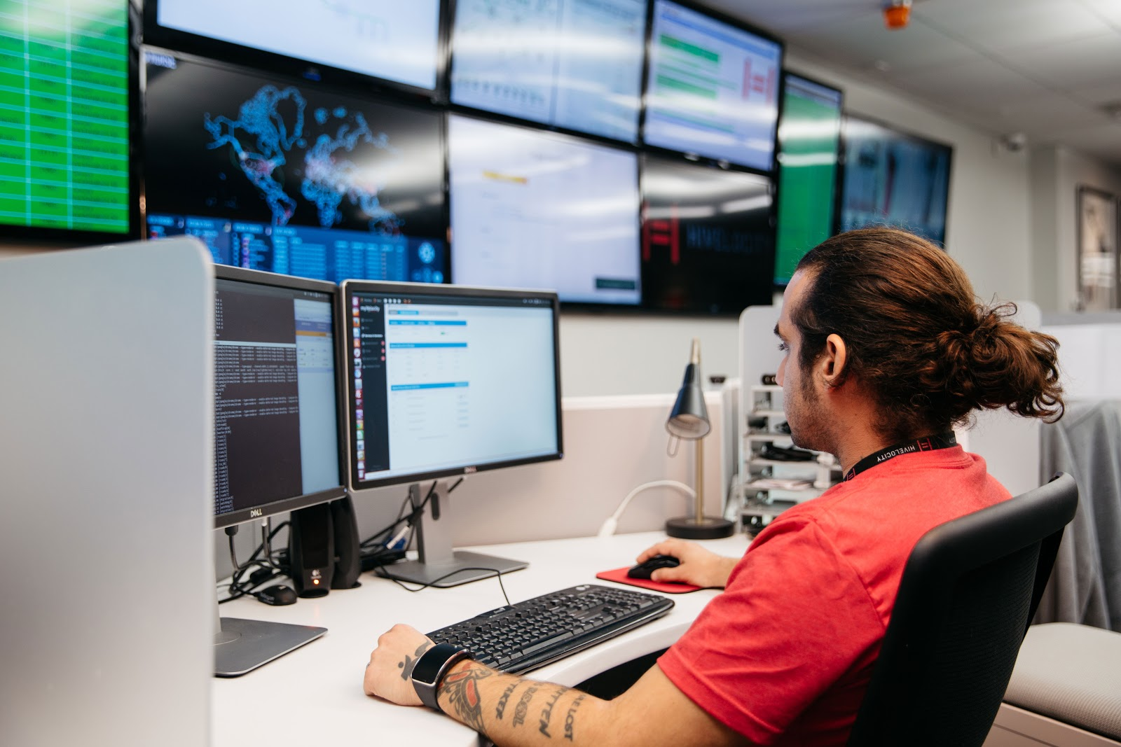 Our NOC Manager is always available to support our dedicated server customers.