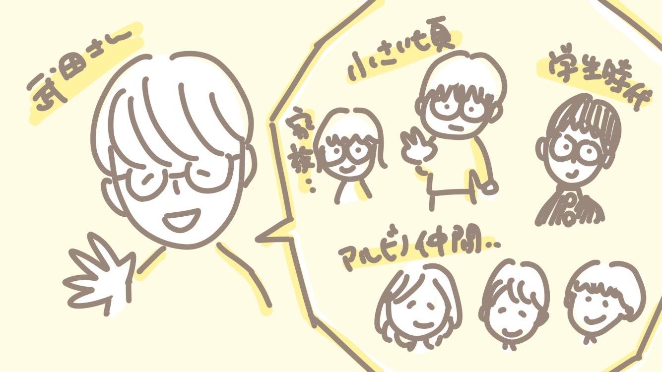 イラスト 武田さん
