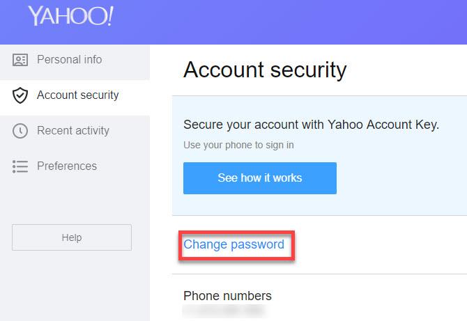 Yahoo Mail Security