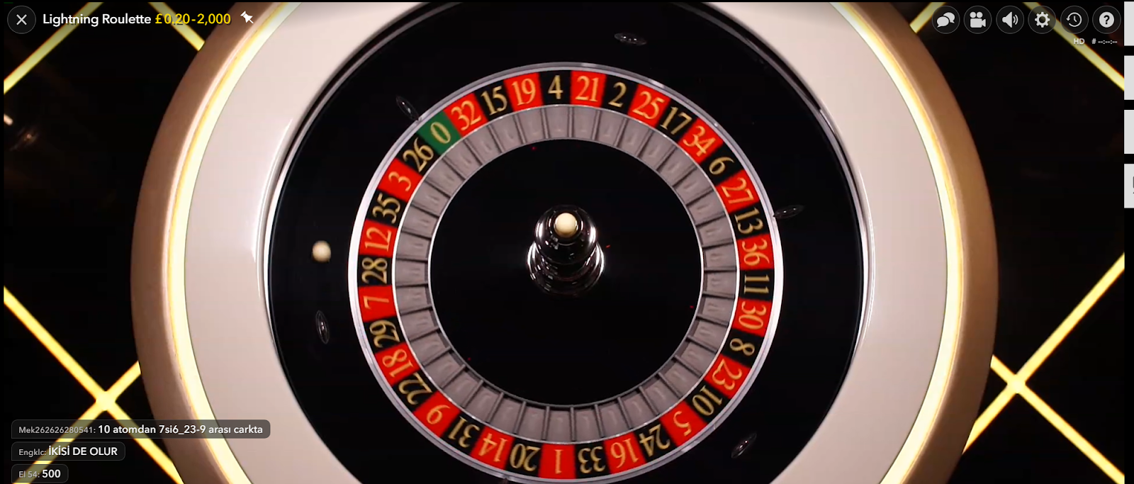 Lightning Roulette is one of the great roulette games you can play at Casoola Casino