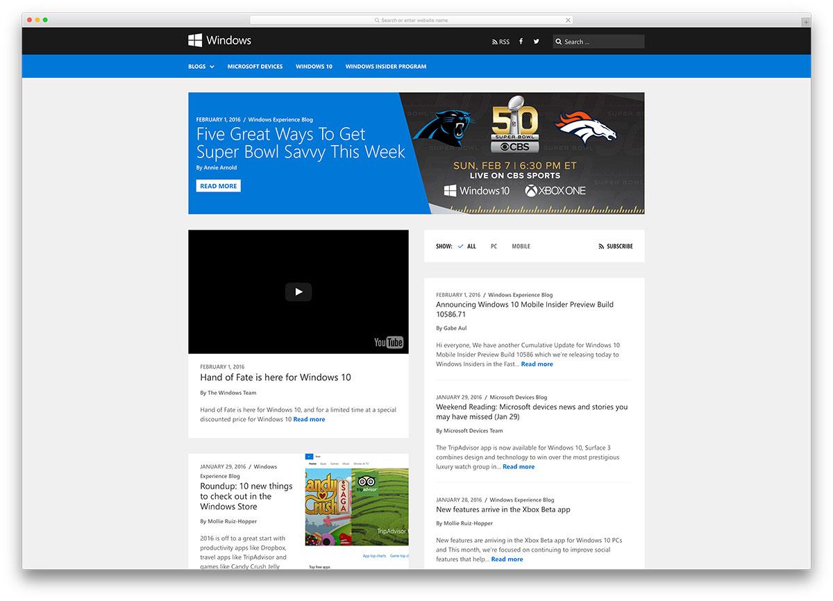 Wordpress Blog Example