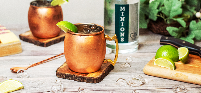Minion's Mule Features an Innovative Spin on the Moscow Mule
