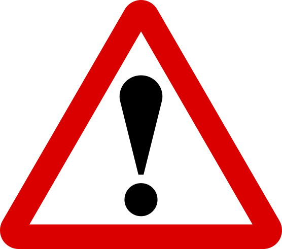 Road Signs - Warning Sign