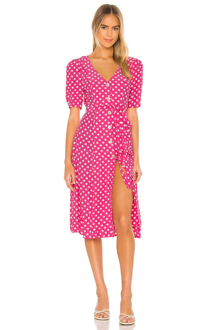 LPA Bambina Dress in Pink Anette Dot