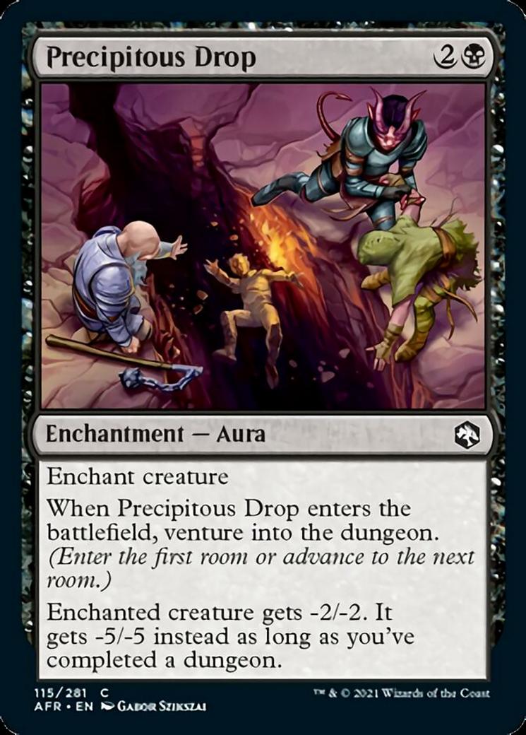Precipitous Drop MTG Card