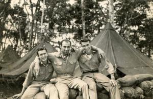 New Georgia Island 1943, Jim on right