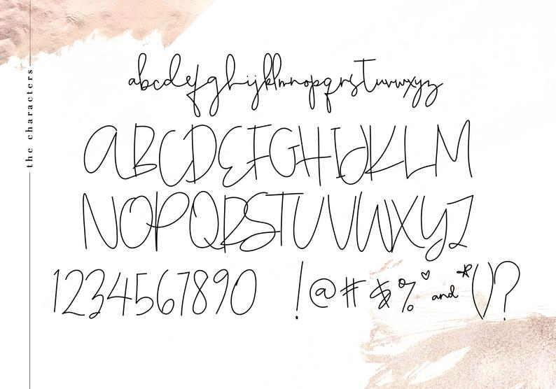 elegant fonts for business cards