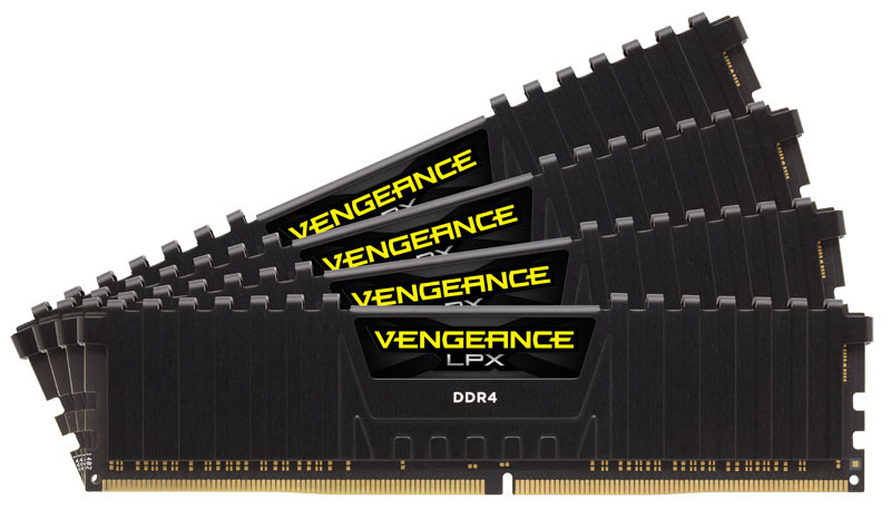 CORSAIR Builds the World's Fastest 32GB 4x8GB DDR4 Memory Kit