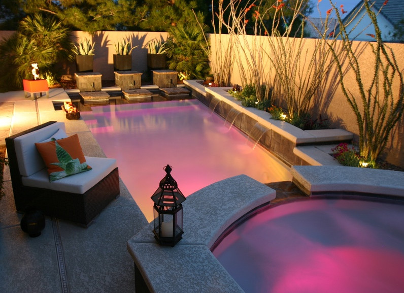 Cmo decorar tu piscina bajo el agua Piscinascom