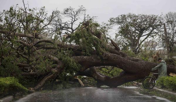 ▲▼颶風艾瑪襲擊古巴。(圖/美聯社)