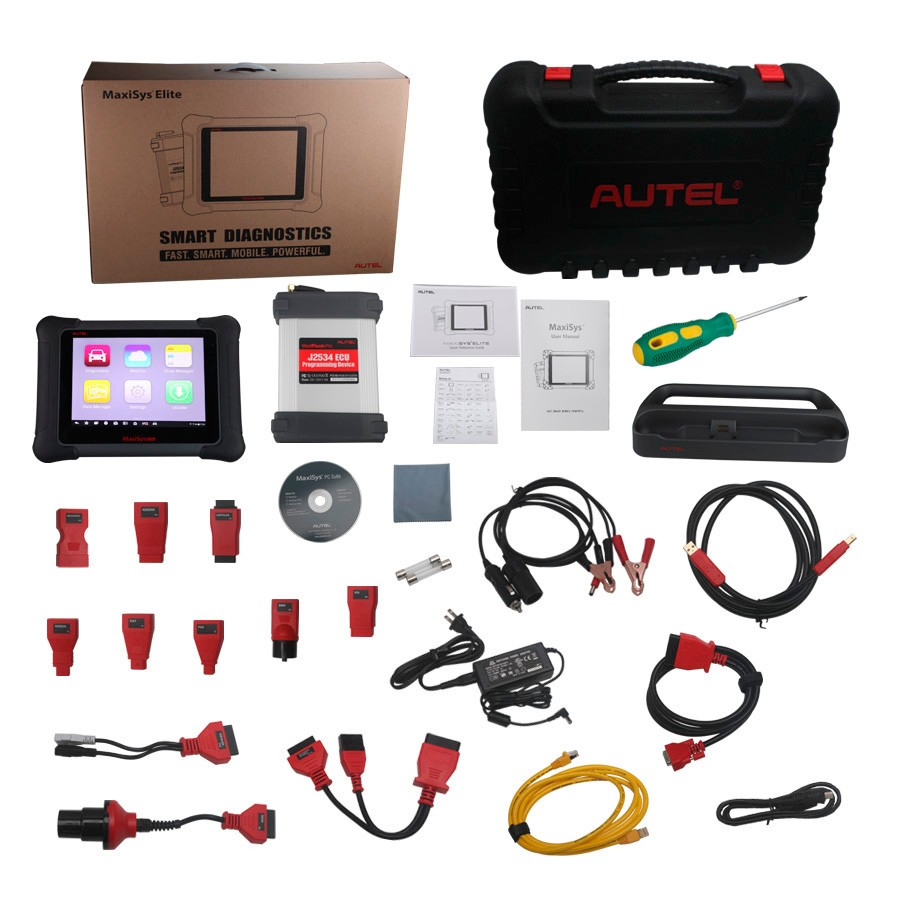 2016 newest version car diagnose scanner Elite, AUTEL MaxiSys Elite, autel maxisys elite pro+wifi Auto diagnostic tool