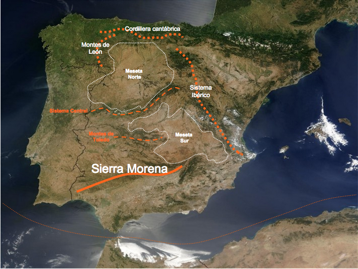 Montes De Leon Mapa.Unidad 3 Porfolio Alberto Gutierrez