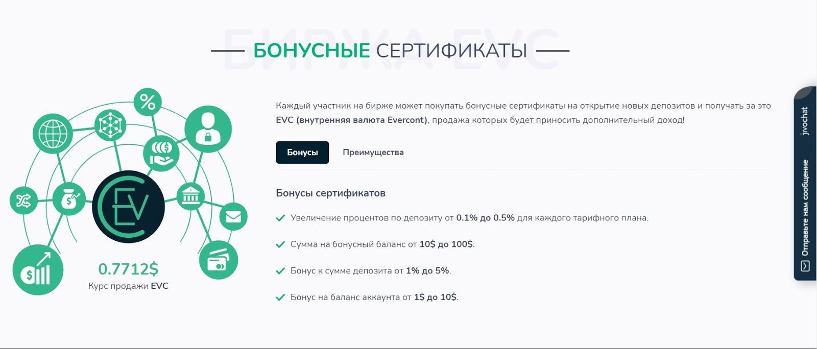Отзывы об Evercont Invest Limited: подробный обзор работы инвесткомпании обзор