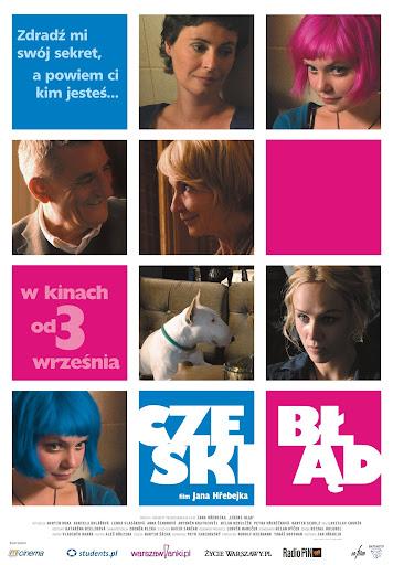 Polski plakat filmu 'Czeski Błąd'