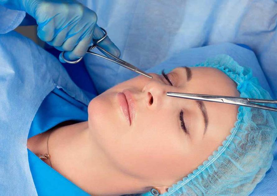 تکنیک عمل بینی گوشتی