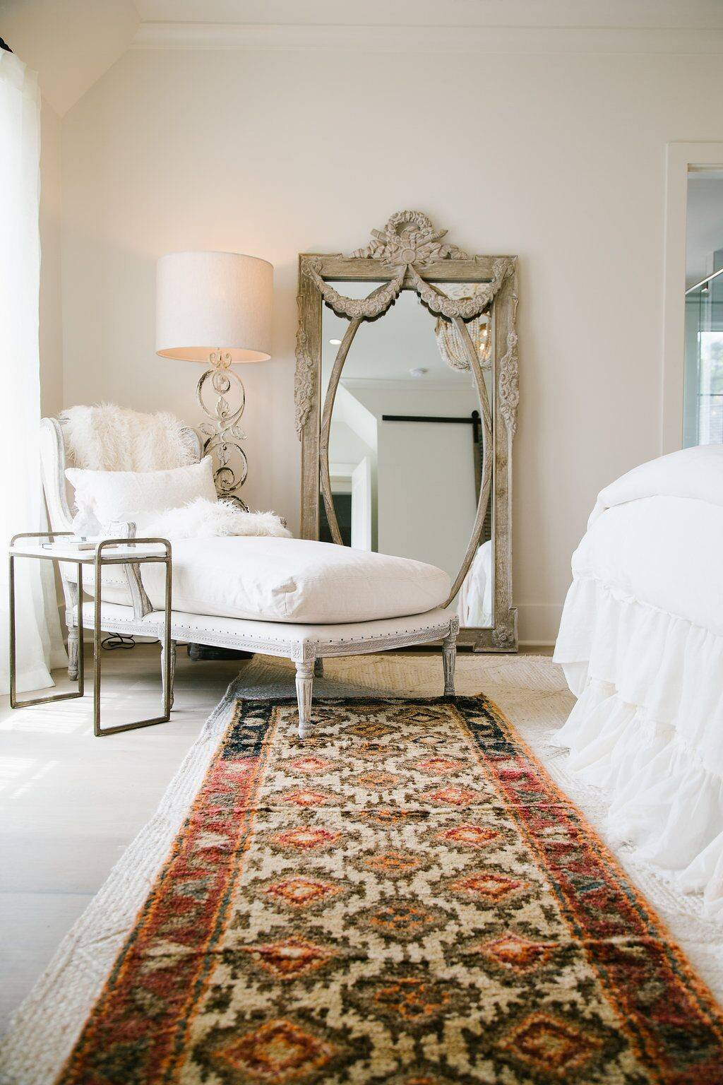 Place A Chaise Lounge At The Corner Of Bedroom