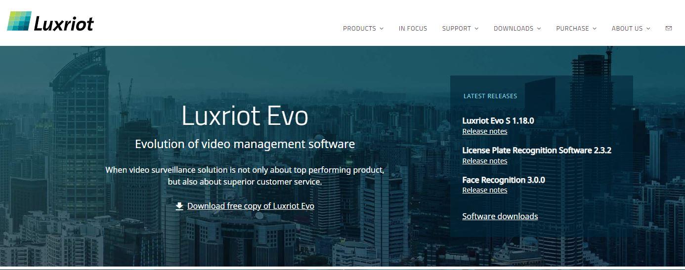 Luxriot IP Camera Software