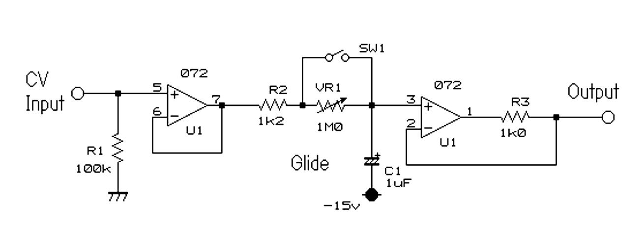 Glide/Portamento Circuit