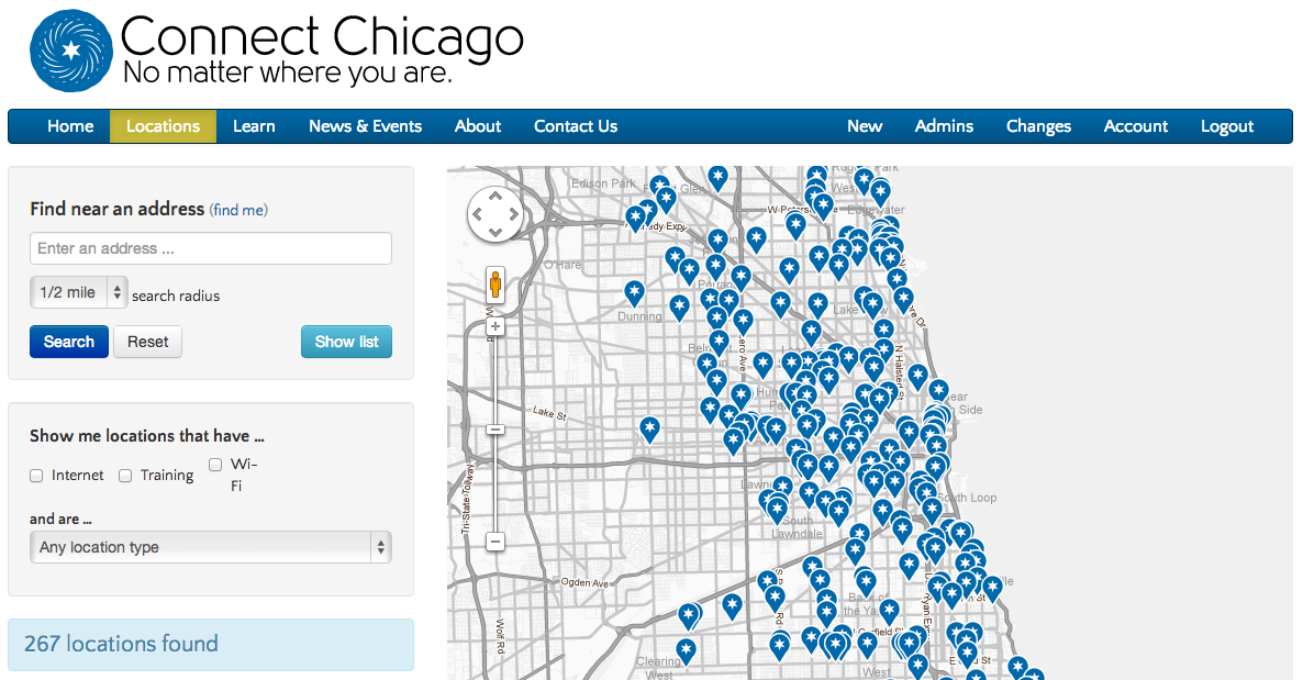 An open source admin tool for fusion tables – Smart Chicago
