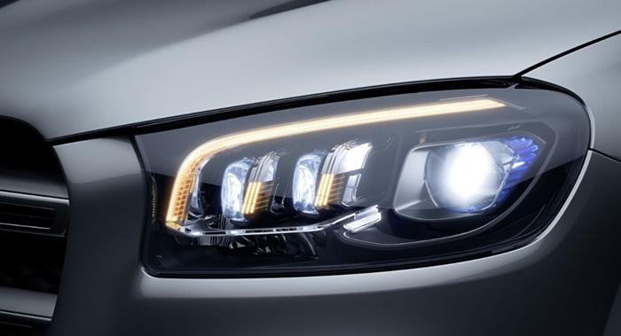 ไฟหน้าแบบ Multibeam LED