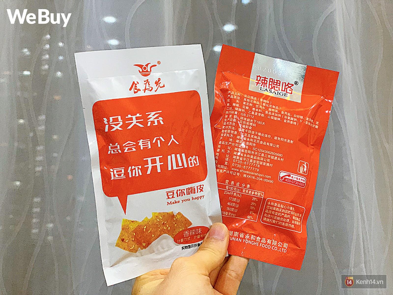 """Review set đồ ăn vặt nội địa Trung Quốc hot hit gần đây: Lung linh hấp dẫn là thế nhưng ăn thử mới thấy như bị... """"lừa tình"""" - Ảnh 15."""