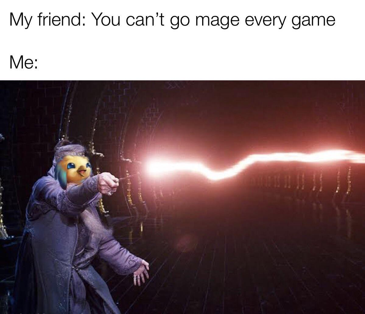 Image result for Mage's cap tft memes