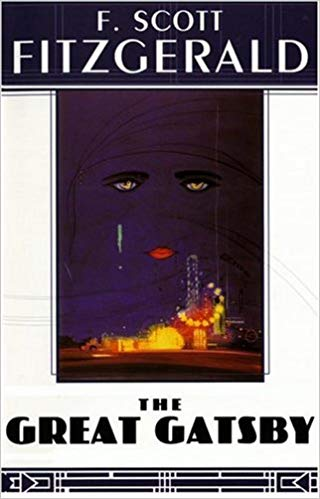 Cover of 'The Great Gatsby' by F. Scott Fitzgerald