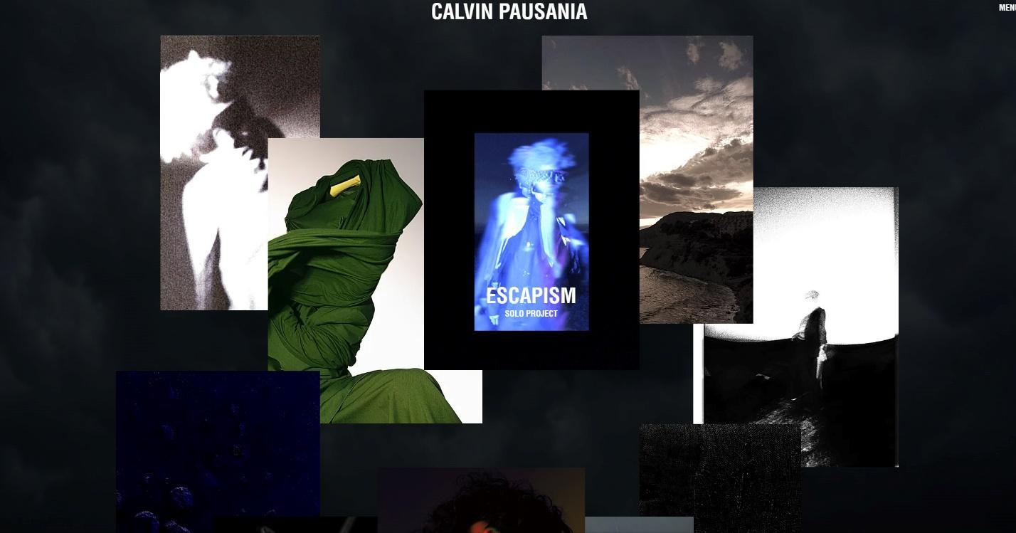 Calvin Pausania homepage