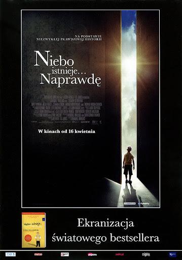 Przód ulotki filmu 'Niebo Istnieje... Naprawdę'