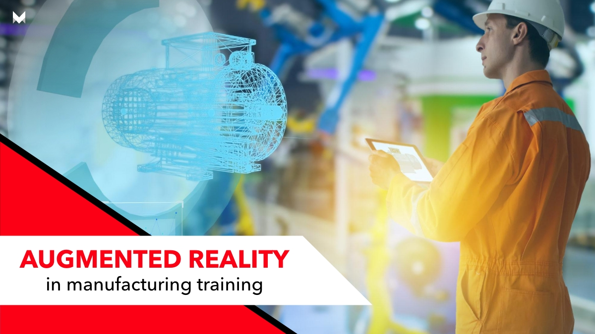 Augmented reality in manufacturing training
