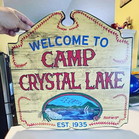 Crystal Lake Sign from Friday the 13th