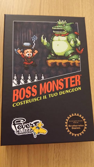 Uno dei prodotti Fever Games: Boss Monster