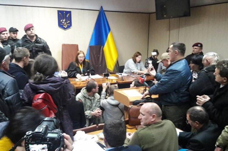 Іванна Миколаєць веде засідання у справі Коханівського