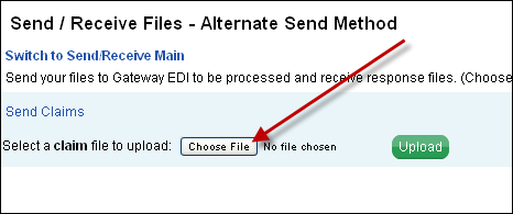 How to Send an 837 Claim File - Azalea Help