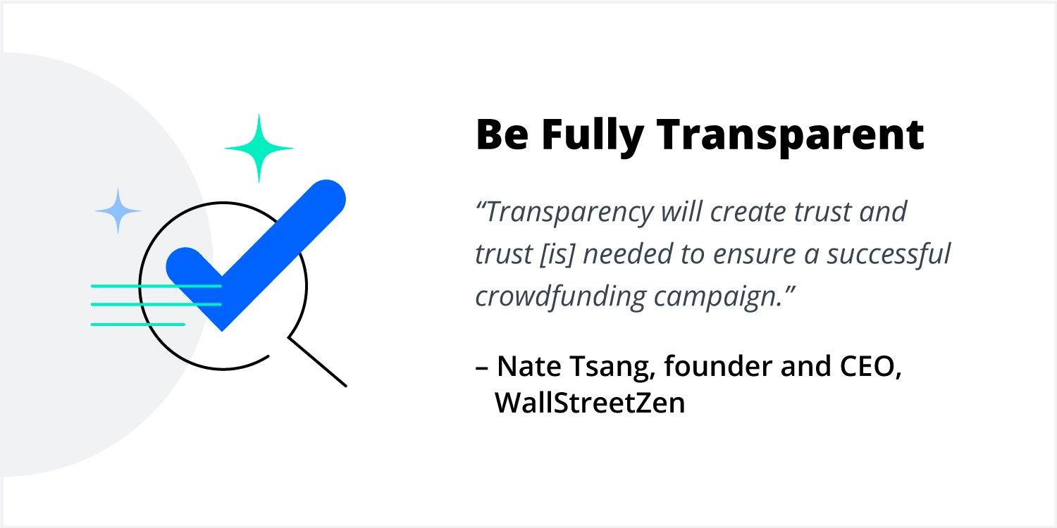 Nate Tsang shares tips on crowdfunding for business