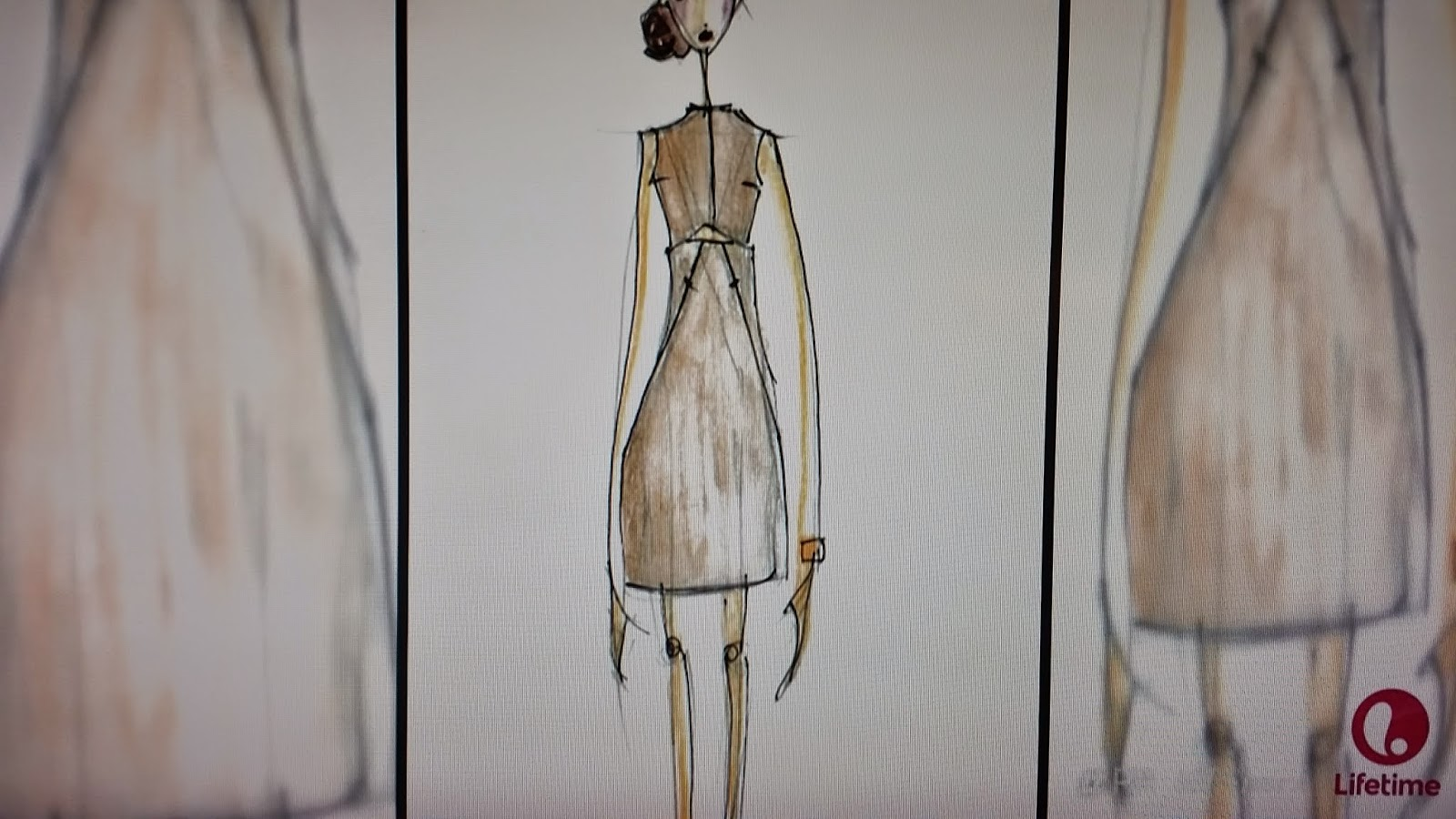 Michelle Lesniak Project Runway All Stars sketch Episode 1