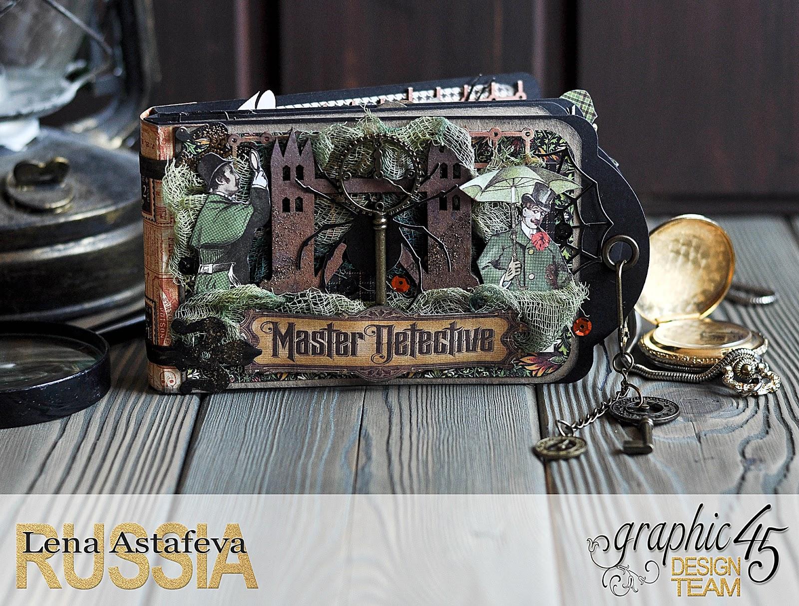 Album-Master Detective-product byGraphic 45- by Lena Astafeva-1.jpg