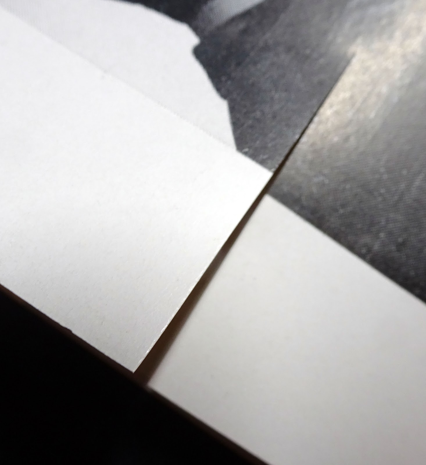 Cut on paper