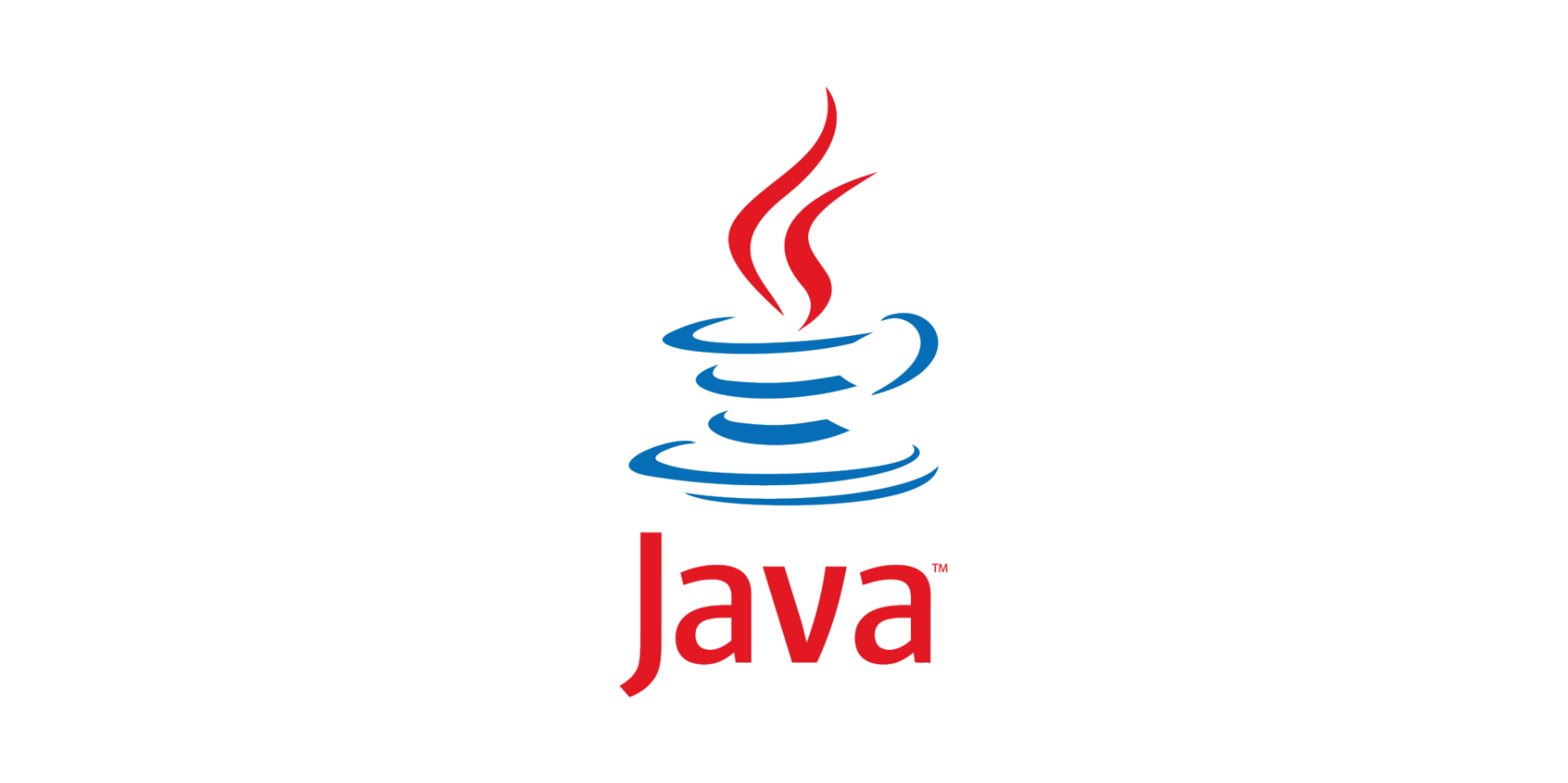 A screen showing Java's logo.