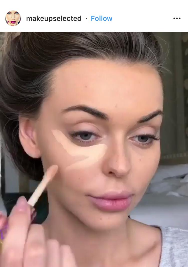 @makeupselected Tutorial Instagram Posts Beispiel