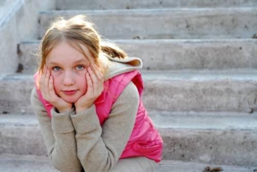 Девочка в переходном возрасте