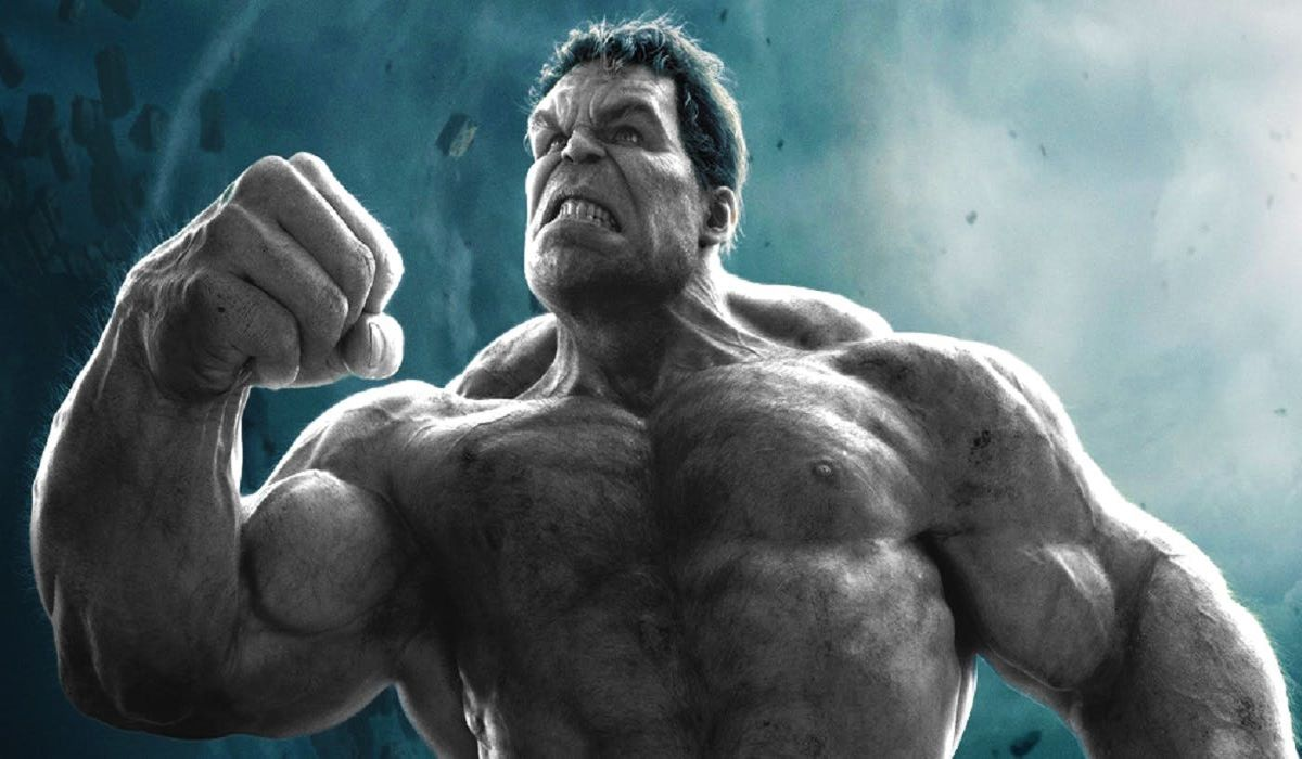 The gray Hulk