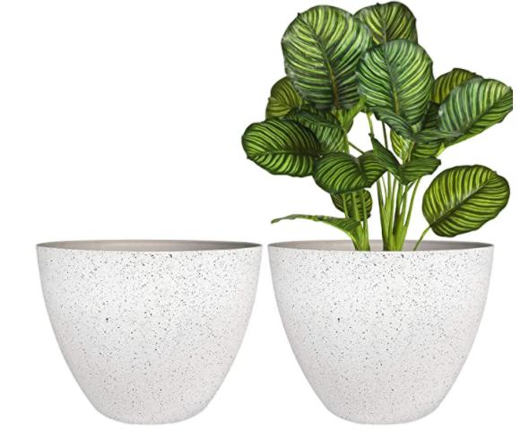 flower pots amazon set of 2