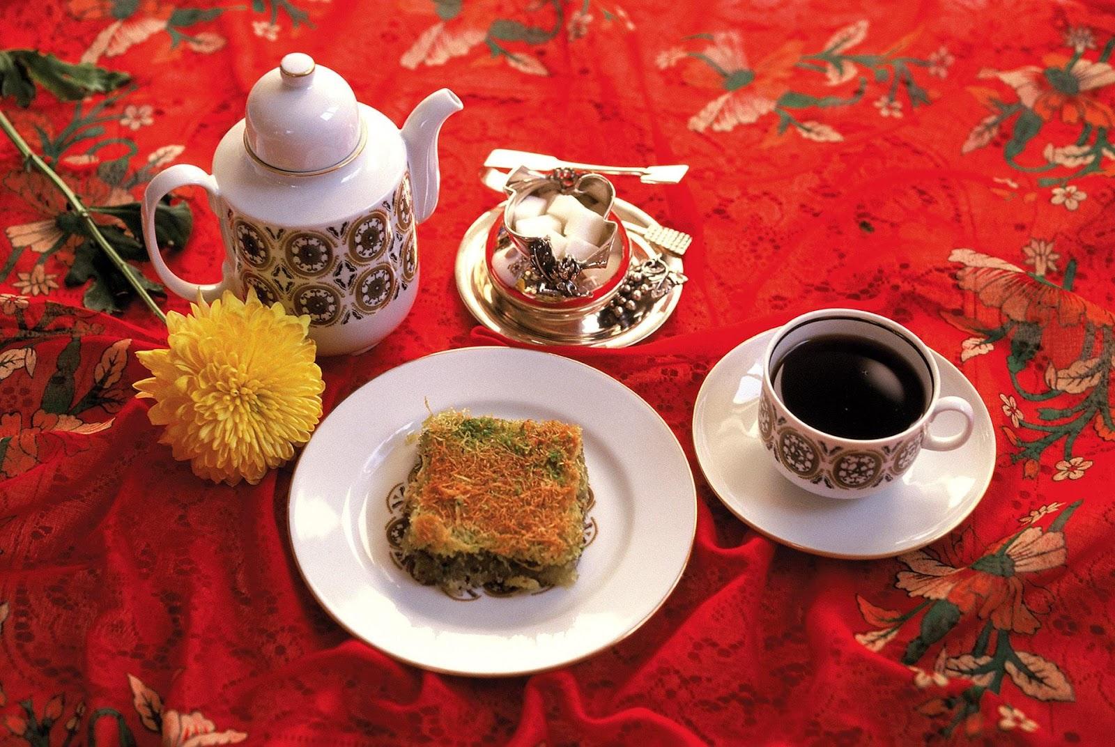 Kadayıf e Türk Kahvesi