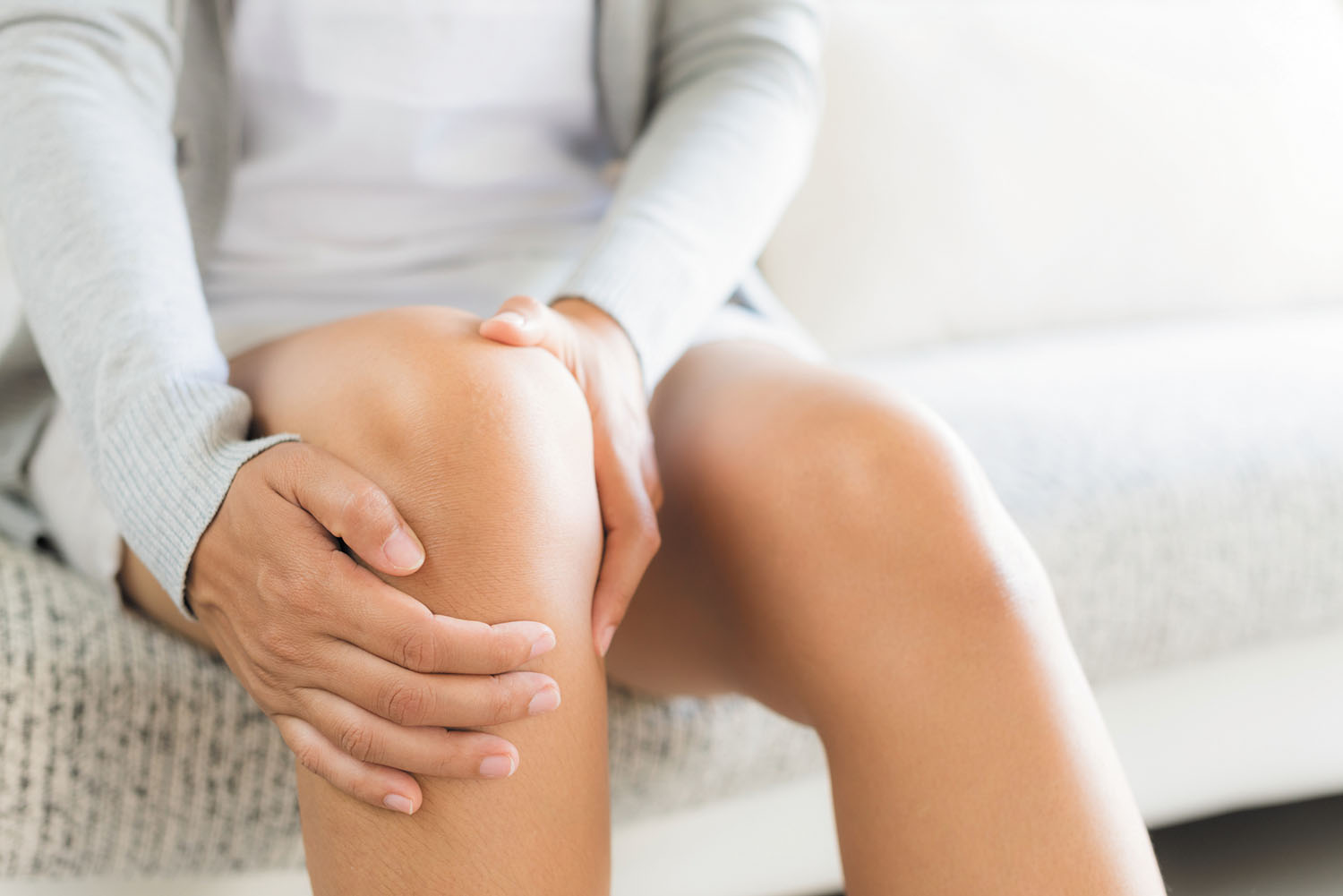 pain limiting woman's activity