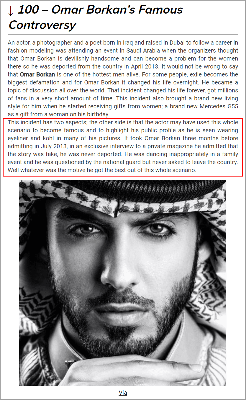 C:\Users\Mujtaba Ali\Desktop\04.06.2021\It took Omar Borkan three months before admitting in July 2013, in an exclusive interview to a private magazine he admitted that the story was fake, he was never deported.png