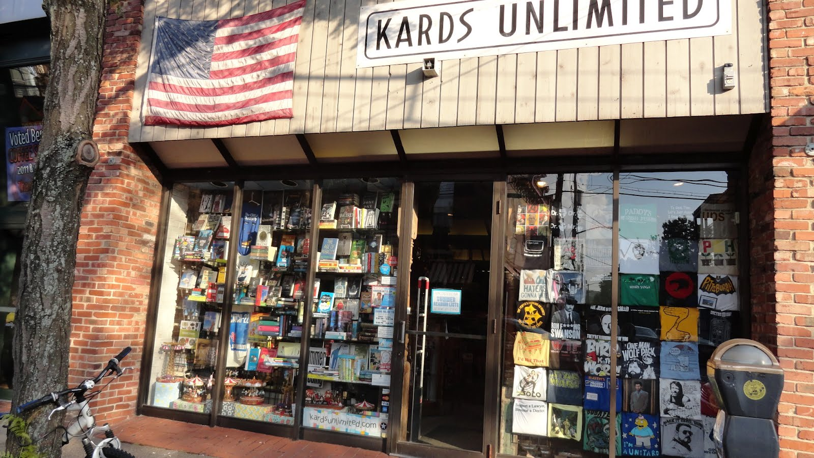 Kards Unlimited storefront