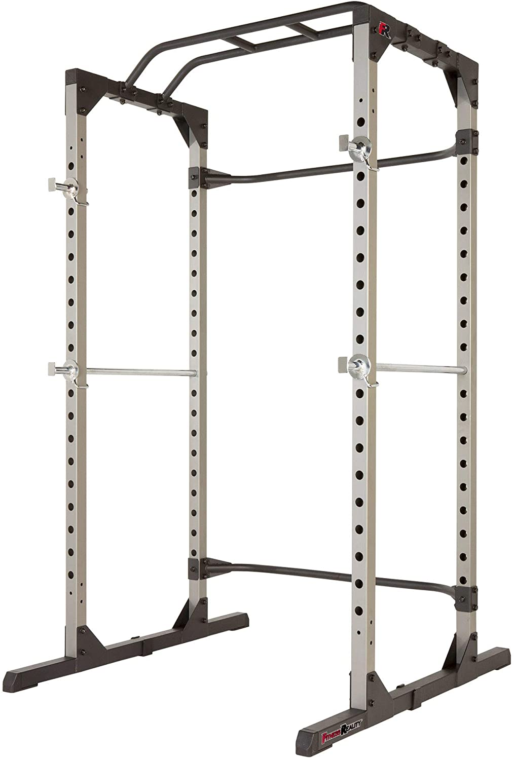 Fitness Reality power cage with rear stability bar
