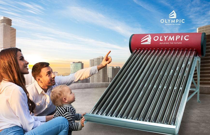 Máy năng lượng mặt trời Olympic - Lựa chọn của mọi gia đình
